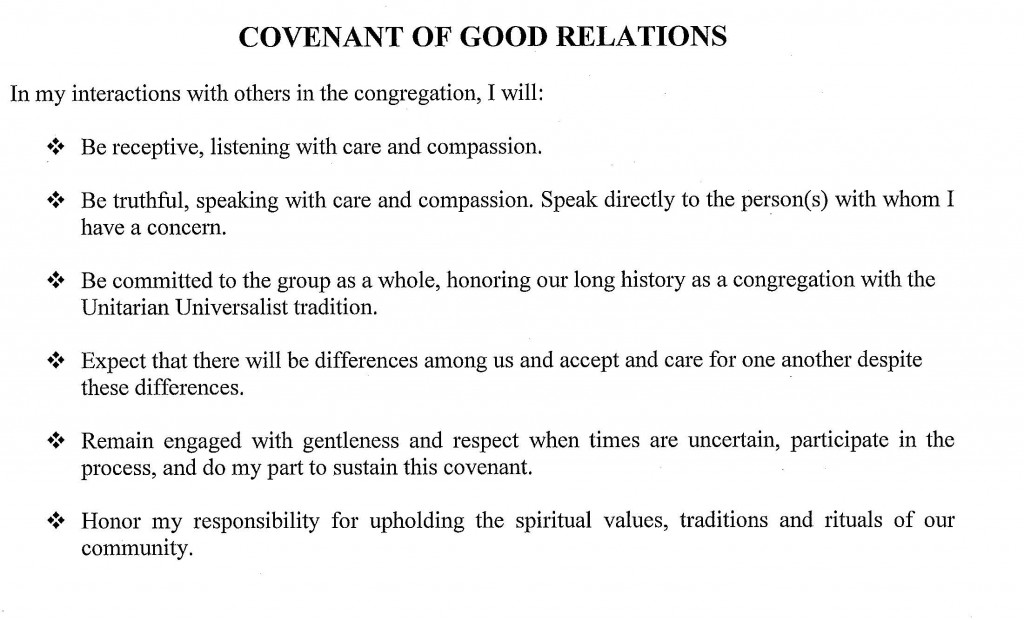 Covenant of Good Relations